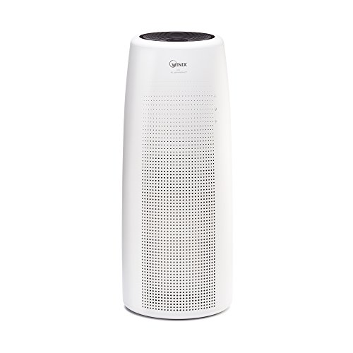 Winix NK105 Wifi Enabled Truehepa Tower Air Purifier White Large