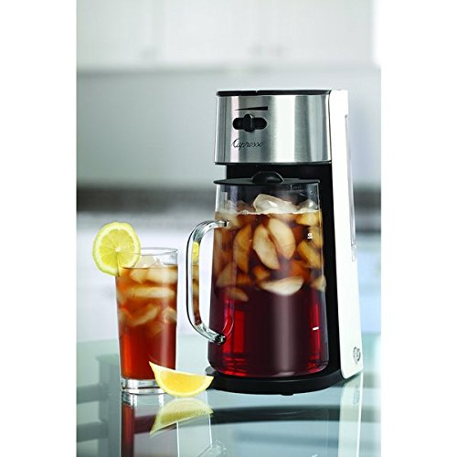 Capresso 624 02 Iced Tea Maker With 80 Ounce Glass Carafe And Removable Water Tank